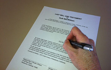 Estate Planning with a Will